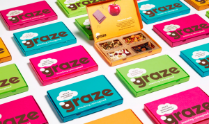 Instore work with Graze to provide tactical campaigns